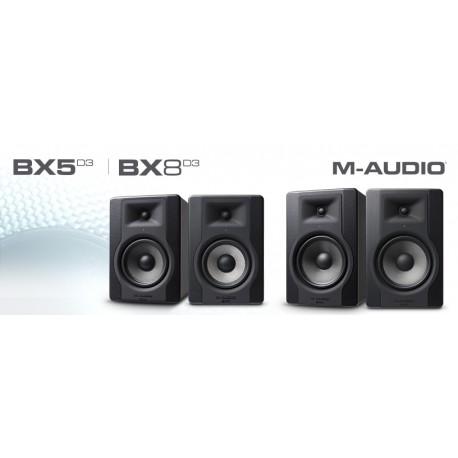 Enceintes de monitoring M Audio