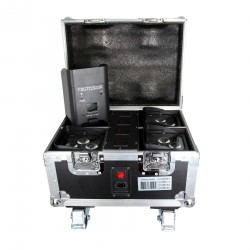 Pack de 4 Pars Sur Batterie 4 x 12W 6-en-1